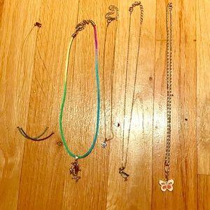 Bundle girls' necklaces